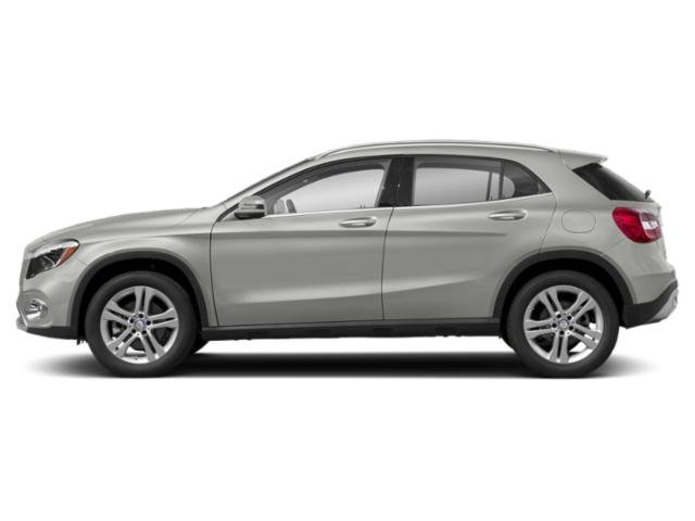 Polar Silver Metallic 2018 Mercedes-Benz GLA Pictures GLA GLA 250 4MATIC SUV photos side view