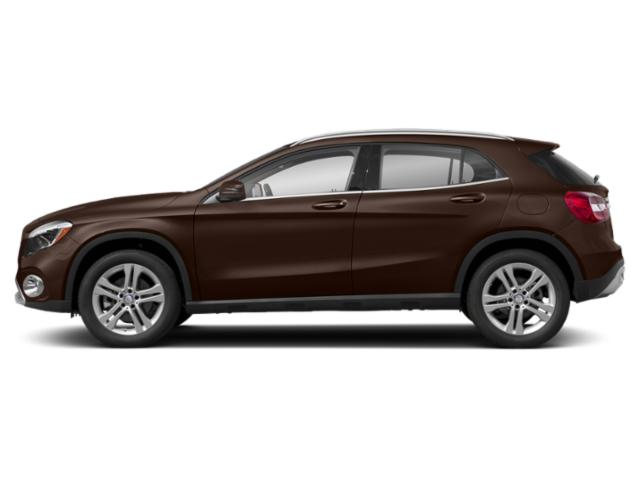 Cocoa Brown Metallic 2018 Mercedes-Benz GLA Pictures GLA GLA 250 4MATIC SUV photos side view