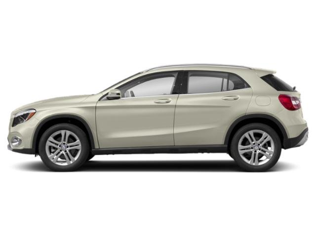 Polar White 2018 Mercedes-Benz GLA Pictures GLA GLA 250 4MATIC SUV photos side view