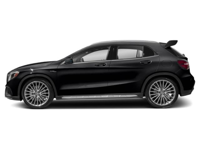Cosmos Black Metallic 2018 Mercedes-Benz GLA Pictures GLA AMG GLA 45 4MATIC SUV photos side view
