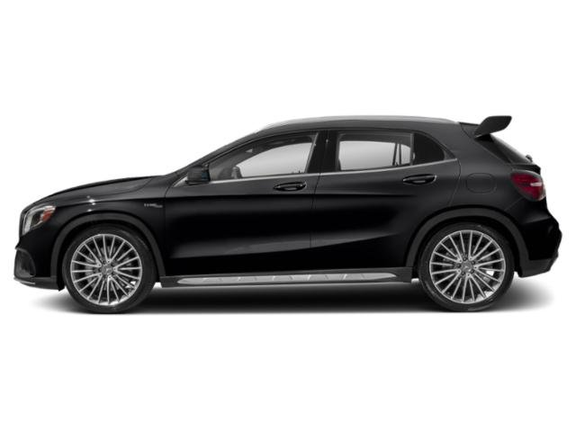 Night Black 2018 Mercedes-Benz GLA Pictures GLA AMG GLA 45 4MATIC SUV photos side view