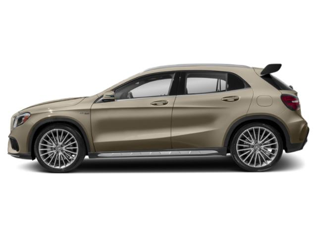Canyon Beige Metallic 2018 Mercedes-Benz GLA Pictures GLA AMG GLA 45 4MATIC SUV photos side view