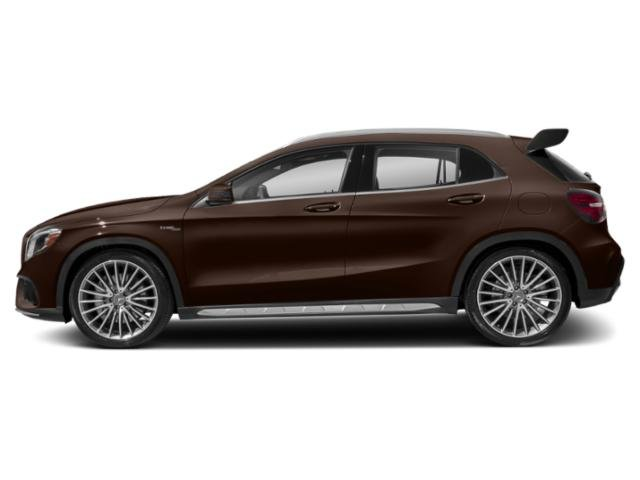 Cocoa Brown Metallic 2018 Mercedes-Benz GLA Pictures GLA AMG GLA 45 4MATIC SUV photos side view