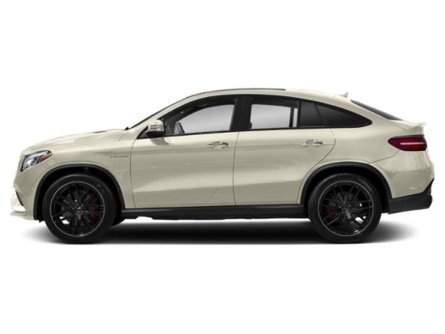 designo Diamond White Metallic 2018 Mercedes-Benz GLE Pictures GLE Utility 4D GLE63 AMG S Sport Cpe AWD photos side view