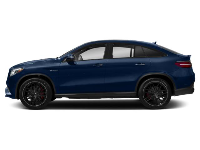 Brilliant Blue Metallic 2018 Mercedes-Benz GLE Pictures GLE Utility 4D GLE63 AMG S Sport Cpe AWD photos side view
