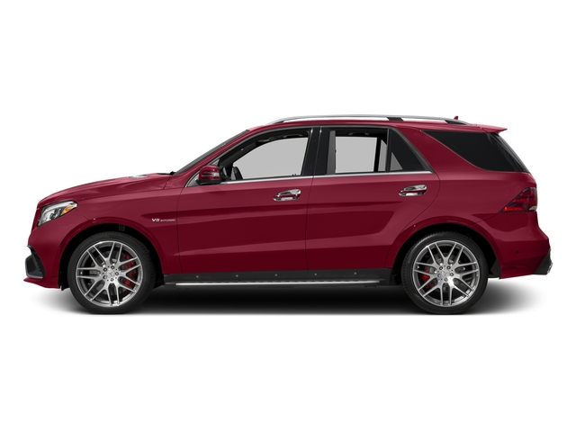 designo Cardinal Red Metallic 2018 Mercedes-Benz GLE Pictures GLE AMG GLE 63 4MATIC SUV photos side view