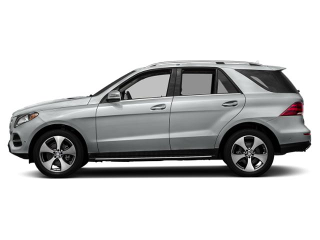 Iridium Silver Metallic 2018 Mercedes-Benz GLE Pictures GLE GLE 350 4MATIC SUV photos side view