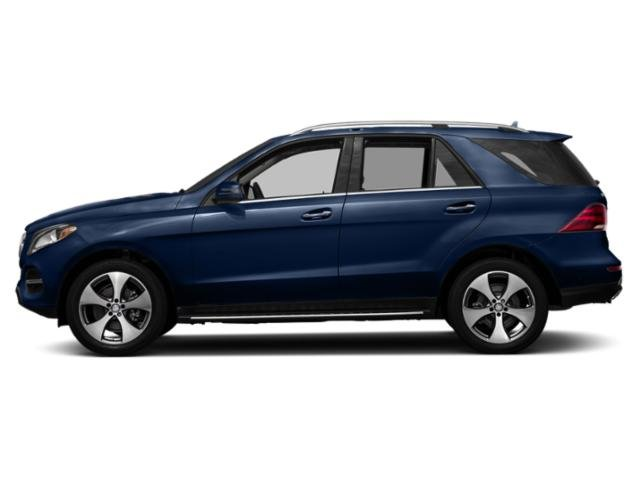 Brilliant Blue Metallic 2018 Mercedes-Benz GLE Pictures GLE GLE 350 4MATIC SUV photos side view