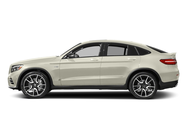 Polar White 2018 Mercedes-Benz GLC Pictures GLC AMG GLC 43 4MATIC Coupe photos side view