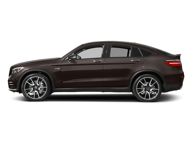 designo Dakota Brown Magno (Matte Finish) 2018 Mercedes-Benz GLC Pictures GLC AMG GLC 43 4MATIC Coupe photos side view