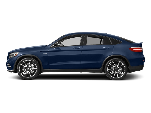 Brilliant Blue Metallic 2018 Mercedes-Benz GLC Pictures GLC AMG GLC 43 4MATIC Coupe photos side view