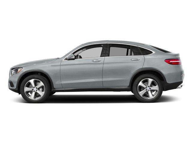Diamond Silver Metallic 2018 Mercedes-Benz GLC Pictures GLC GLC 300 4MATIC Coupe photos side view