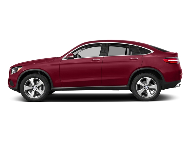designo Cardinal Red Metallic 2018 Mercedes-Benz GLC Pictures GLC GLC 300 4MATIC Coupe photos side view