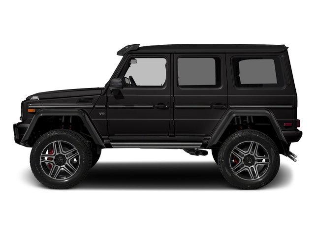 designo Mocha Black Metallic 2018 Mercedes-Benz G-Class Pictures G-Class G 550 4x4 Squared SUV photos side view