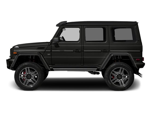 designo Night Black Magno 2018 Mercedes-Benz G-Class Pictures G-Class G 550 4x4 Squared SUV photos side view