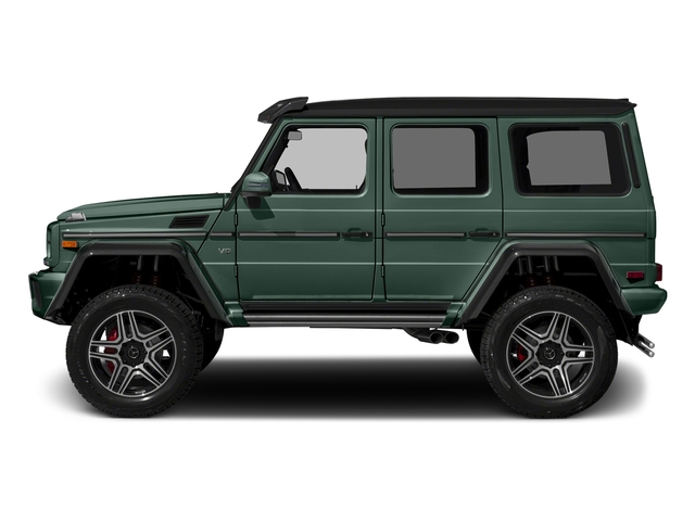 Jade Green Metallic 2018 Mercedes-Benz G-Class Pictures G-Class G 550 4x4 Squared SUV photos side view