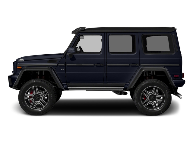 Capri Blue Metallic 2018 Mercedes-Benz G-Class Pictures G-Class G 550 4x4 Squared SUV photos side view