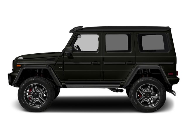 designo Manufaktur Verde Brook Metallic 2018 Mercedes-Benz G-Class Pictures G-Class G 550 4x4 Squared SUV photos side view