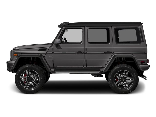 designo Manufaktur Tectite Grey Metallic 2018 Mercedes-Benz G-Class Pictures G-Class G 550 4x4 Squared SUV photos side view