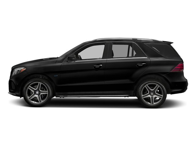 Obsidian Black Metallic 2018 Mercedes-Benz GLE Pictures GLE GLE 550e 4MATIC SUV photos side view