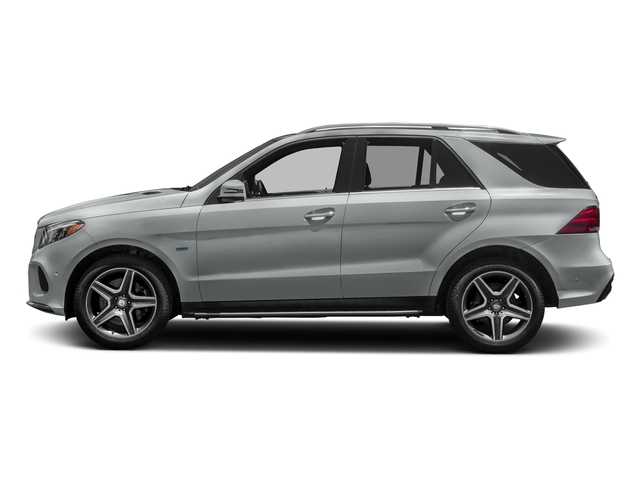Iridium Silver Metallic 2018 Mercedes-Benz GLE Pictures GLE GLE 550e 4MATIC SUV photos side view