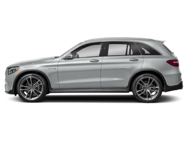 Iridium Silver Metallic 2018 Mercedes-Benz GLC Pictures GLC AMG GLC 63 4MATIC SUV photos side view