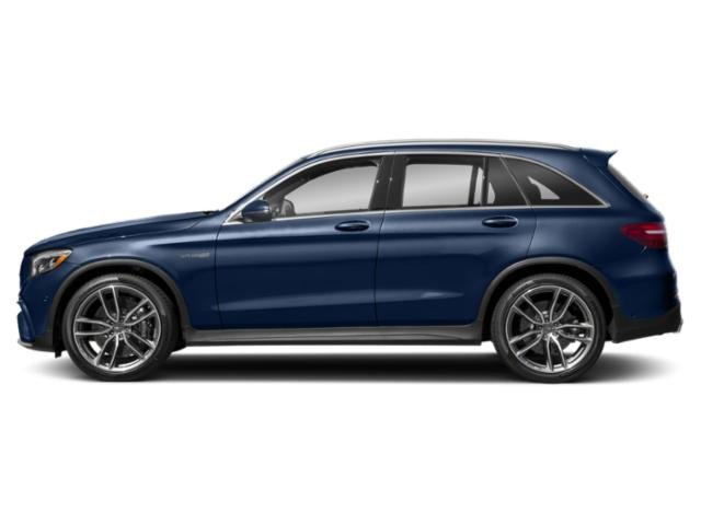 Brilliant Blue Metallic 2018 Mercedes-Benz GLC Pictures GLC AMG GLC 63 4MATIC SUV photos side view
