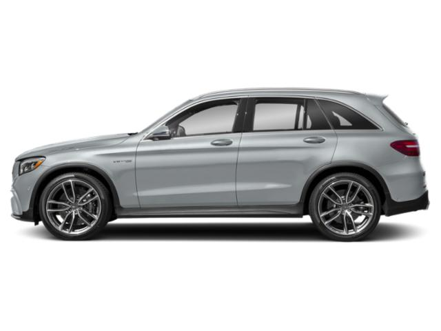 Diamond Silver Metallic 2018 Mercedes-Benz GLC Pictures GLC AMG GLC 63 4MATIC SUV photos side view