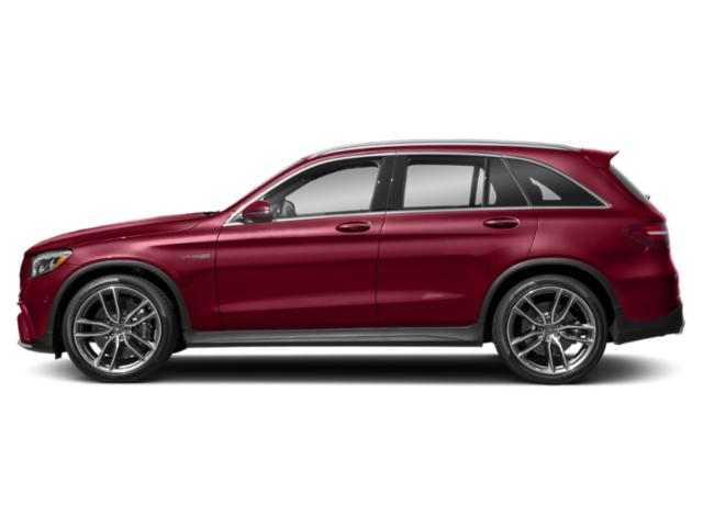 designo Cardinal Red Metallic 2018 Mercedes-Benz GLC Pictures GLC AMG GLC 63 4MATIC SUV photos side view