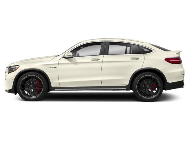 designo Diamond White Metallic 2018 Mercedes-Benz GLC Pictures GLC AMG GLC 63 S 4MATIC Coupe photos side view