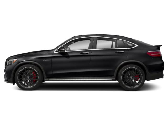 Black 2018 Mercedes-Benz GLC Pictures GLC AMG GLC 63 S 4MATIC Coupe photos side view