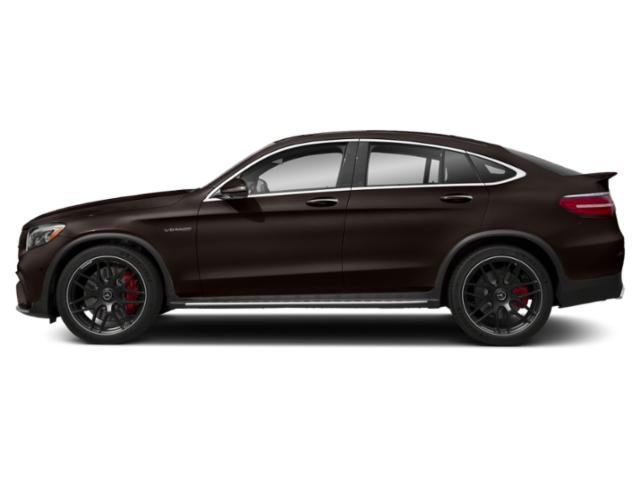 designo Dakota Brown Magno (Matte Finish) 2018 Mercedes-Benz GLC Pictures GLC AMG GLC 63 S 4MATIC Coupe photos side view