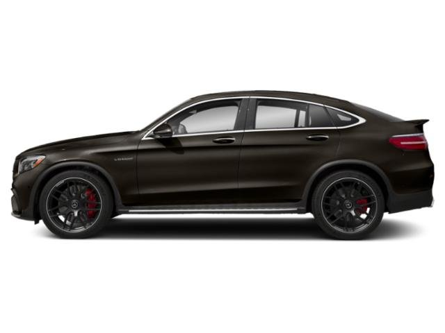 Dakota Brown Metallic 2018 Mercedes-Benz GLC Pictures GLC AMG GLC 63 S 4MATIC Coupe photos side view