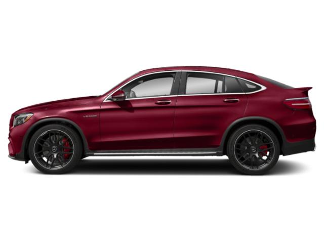 designo Cardinal Red Metallic 2018 Mercedes-Benz GLC Pictures GLC AMG GLC 63 S 4MATIC Coupe photos side view