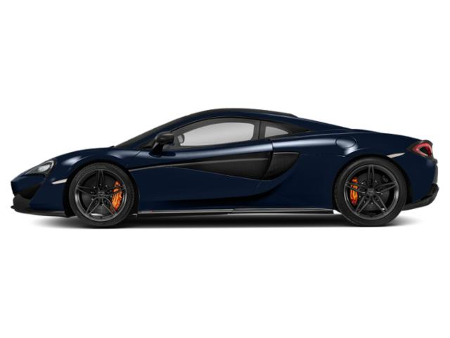 Blue 2018 McLaren 570S Pictures 570S Coupe photos side view