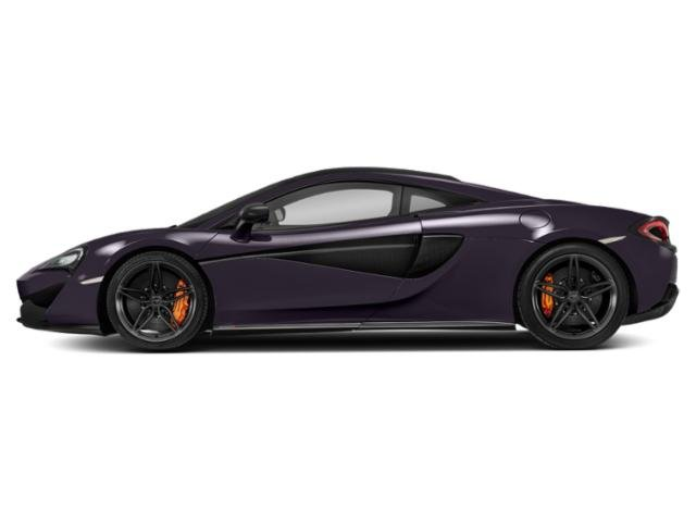 Cobalt Violet 2018 McLaren 570S Pictures 570S Coupe photos side view