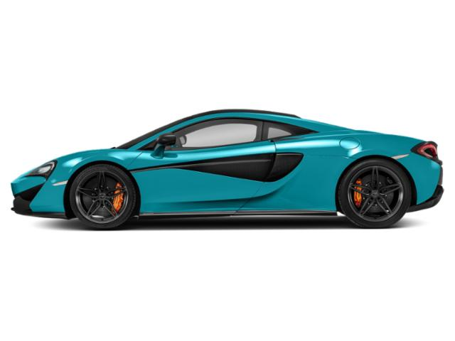 Fistral Blue 2018 McLaren 570S Pictures 570S Coupe photos side view