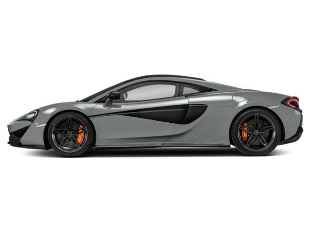 Ice Silver 2018 McLaren 570S Pictures 570S Coupe photos side view
