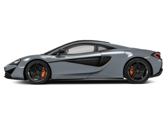 Polaris Blue 2018 McLaren 570S Pictures 570S Coupe photos side view