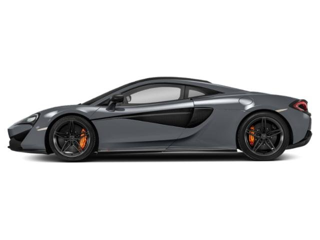 Storm Gray 2018 McLaren 570S Pictures 570S Coupe photos side view