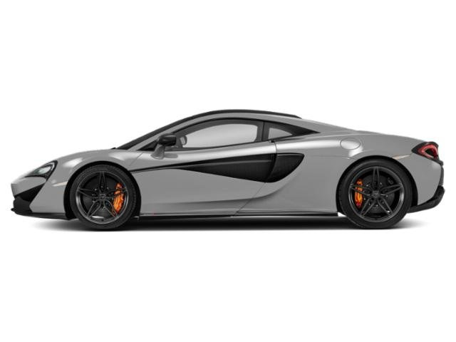 Silver 2018 McLaren 570S Pictures 570S Coupe photos side view