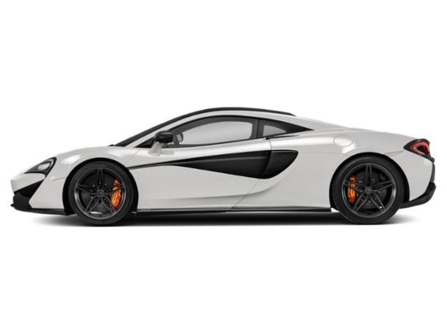 White 2018 McLaren 570S Pictures 570S Coupe photos side view