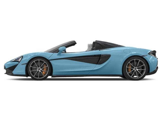 Curacao Blue 2018 McLaren 570S Pictures 570S Spider photos side view