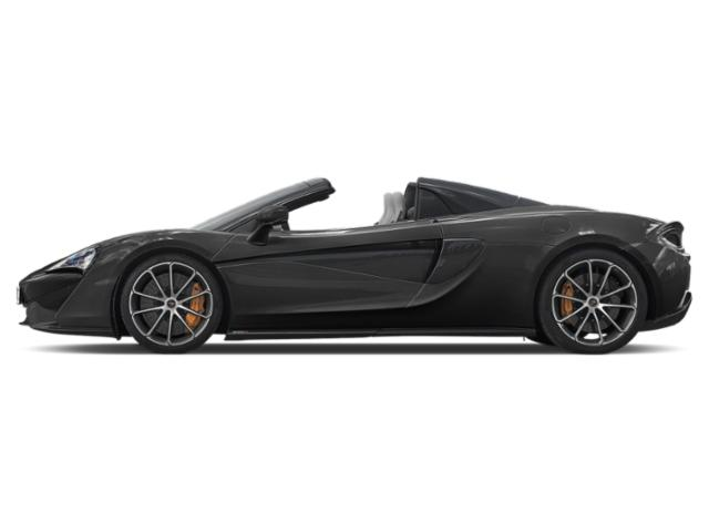 Abyss Black 2018 McLaren 570S Pictures 570S Spider photos side view
