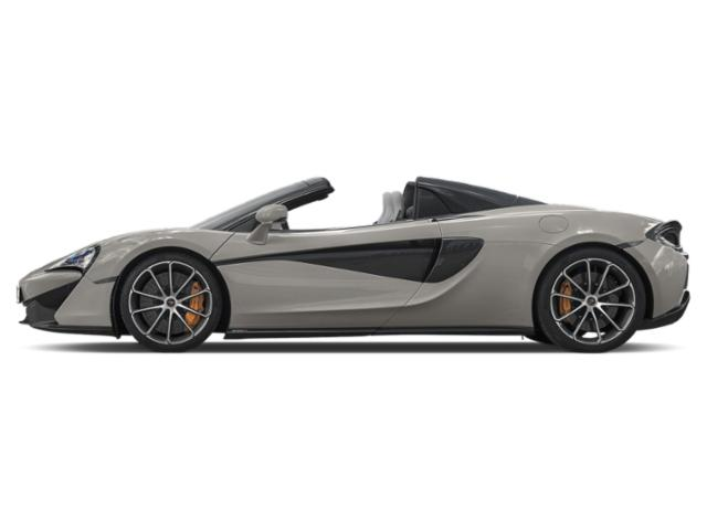 Blade Silver 2018 McLaren 570S Pictures 570S Spider photos side view