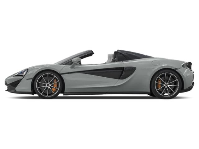 Ice Silver 2018 McLaren 570S Pictures 570S Spider photos side view