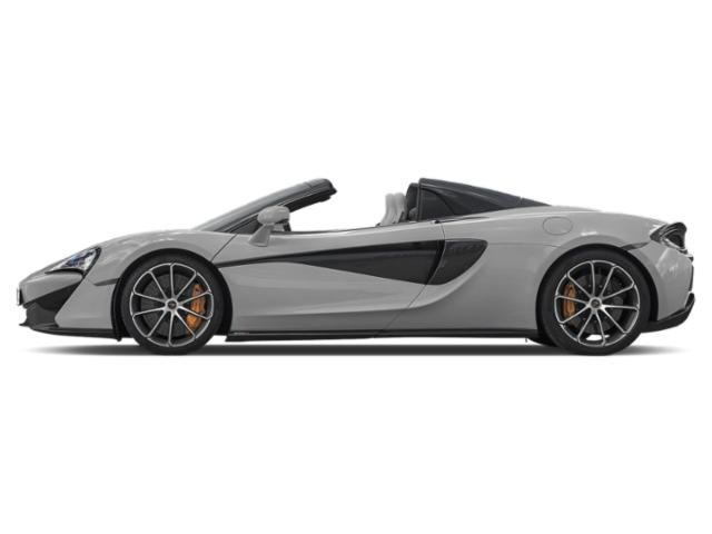Silver 2018 McLaren 570S Pictures 570S Spider photos side view