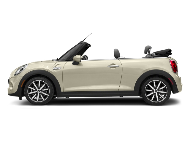 Pepper White 2018 MINI Convertible Pictures Convertible Cooper S FWD photos side view