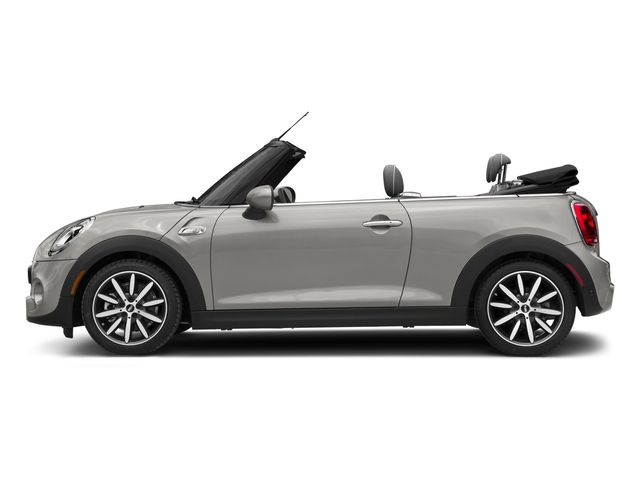 White Silver Metallic 2018 MINI Convertible Pictures Convertible Cooper S FWD photos side view