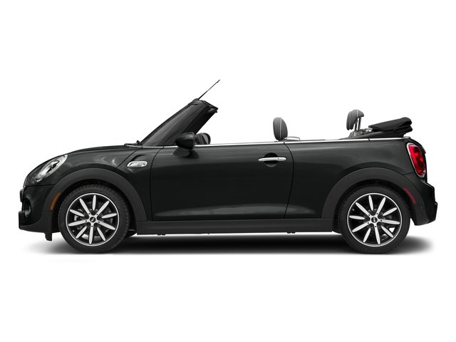 Thunder Grey Metallic 2018 MINI Convertible Pictures Convertible Cooper S FWD photos side view